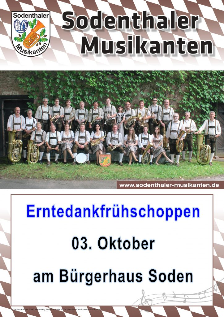 Erntedankfrühschoppen @ Bürgerhaus Soden